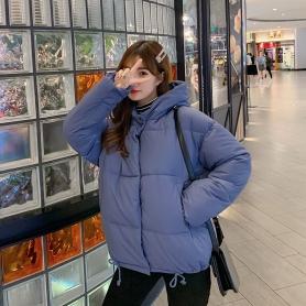 8807韩国东大门短款宽松学生bf棉衣女新款时尚洋气学生网红小棉袄